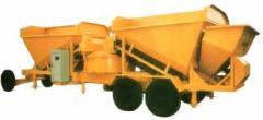 Mobile Concrete Batching / mixing plants capacity