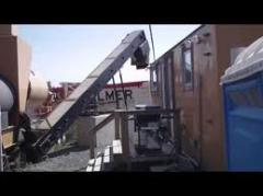 Mobile Automatic Drum Mix Asphalt Plant for