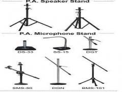 Microphone & Speaker Stand