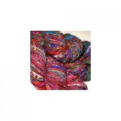 Recycled Silk Fibers