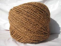 2 Ply Handspun Jute Yarn - Natural Golden