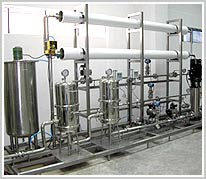 SS Water Treatment Plant with RO
