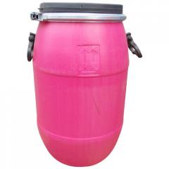 Open Top Plastic Container (Pink)