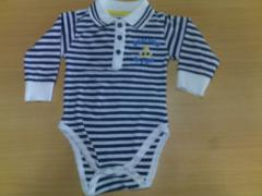 Collar & Cuff Baby Rompers