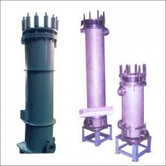 Cylindrical Block Type Heat Exchangers