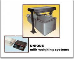 Milk Weighing Machines