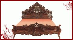 Rosewood Carved Cot