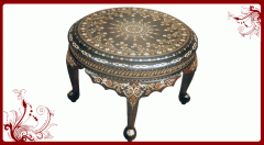 Rosewood Round Coffee Table