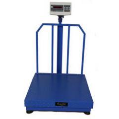 Platform Weighing Scale Mild Steel Checkered Pan