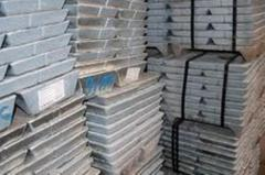 Zinc Ingots, Dross, Skimming, Ash, Scrap,