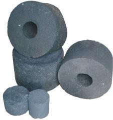 Briquettes of coke