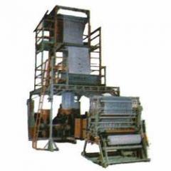 Three Layer Film Plant with Rotating Die/Platform