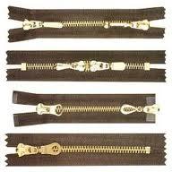 Zippers Metal