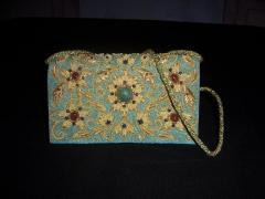 Zari Embroidered Purse