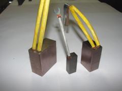 Copper Carbon Brush