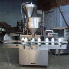 Bottle / Jar Powder Filling Machine