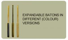 Expandable batons