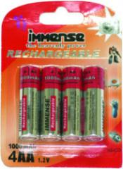 NICD Rechargeable Batteries