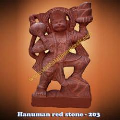 Hanuman Red Stone-203