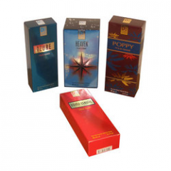 Perfume packaging boxes