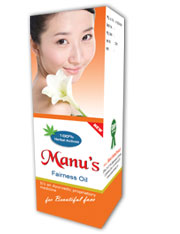 Manus Herbal Fairness Oil