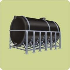 Sintex Horizontal Cylindrical Water Tanks