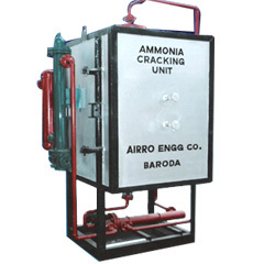 Ammonia Cracking Unit Gas Composition