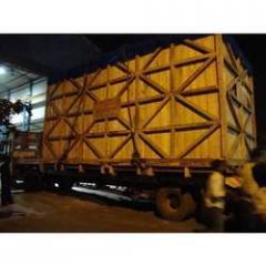 Silver Wood Heavy Machinery Box