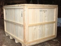 Rubber/Wood Heavy Machine Packing Cases