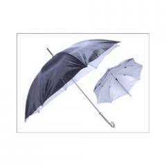 Black Coated Umbrellas