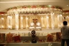 Wedding Crystal Fibre Mandap