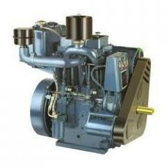 Double Cylinder Air/water Cooled Diesel Engine