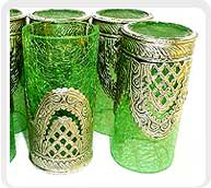 Colored Drinking Glasses