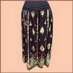 Embroidered and Printed Skirts