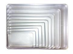 Aluminium sweet tray
