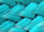 P.V.C coated wires