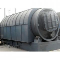 Waste rubber refining equipment