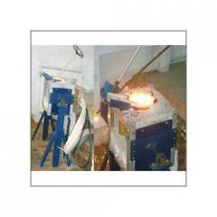 Aluminum Frame Melting Crucibles