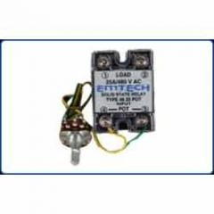 Manual pot solid state relay