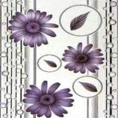 Flower print designer ceramic tiles
