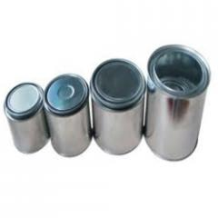 Double Tight Tin Container