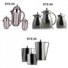Steel Tea Set