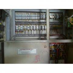 Heat Treatment Process Control Panel
