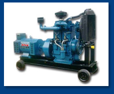 Double Cylinder Water Cooled Generator Set With
