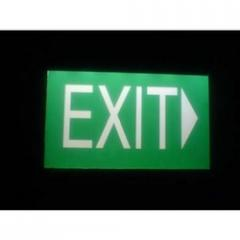 LED Exit Board