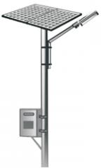 Solar LED/CFL Street Light