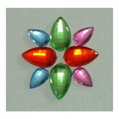 Pear Acrylic Beads