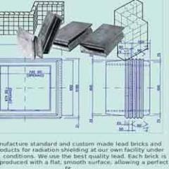 Lead Bricks For Radiation Shielding