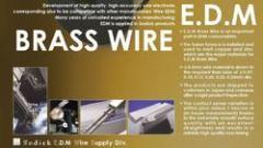 E.D.M Brass Wire