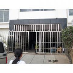 S.S railing gates